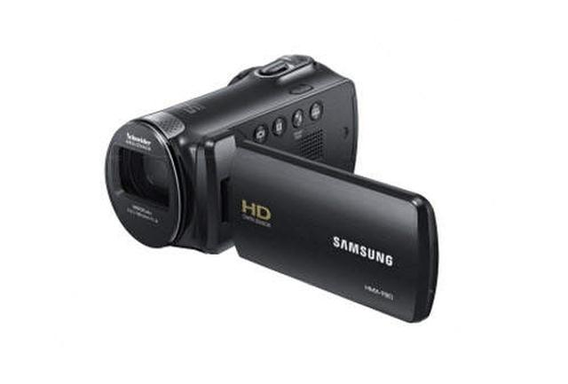 Samsung HMX-F80 - unboxing