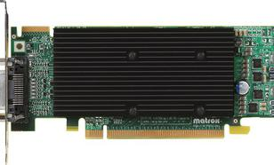 Matrox M9120 Plus 512MB DDR2 DVI LowProfile (M9120-E512LPUF)