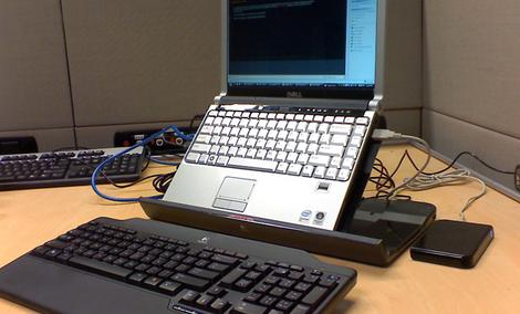 Logitech Alto Cordless - klawiatura i podstawka dla notebooków