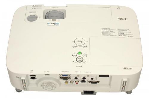 NEC Projektor LCD P401W WXGA 4000ANSI 4000:1
