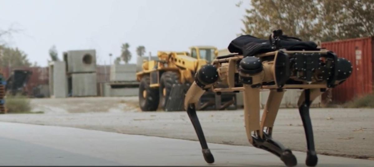 Ghost Robotics stworzył kilka robotycznych psów na potrzeby wojska