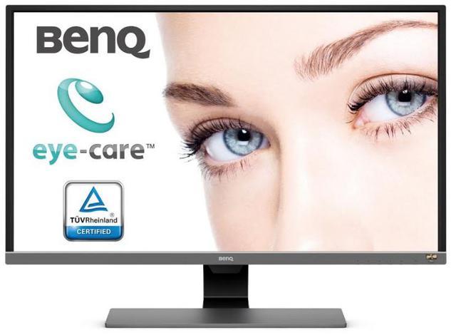 Monitor posiada pełen pakiet ochrony oczu.