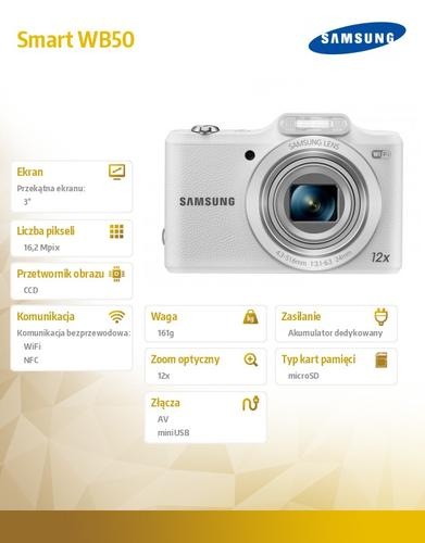 Samsung Smart WB50 white