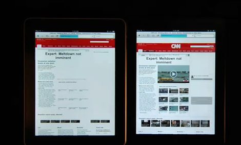 iPad 1 vs. iPad 2 - porównanie szybkości tabletów