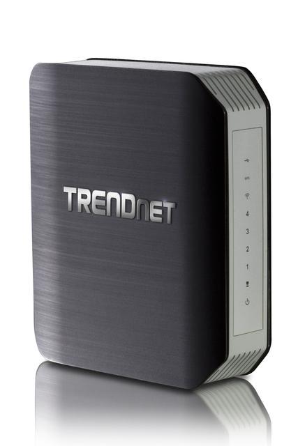 TRENDnet przedstawia bezprzewodowy router osiągający prędkość 1750Mb/s