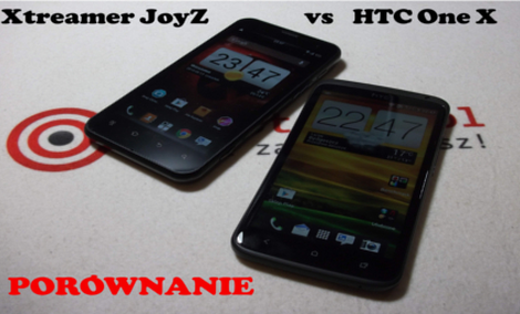 Xtreamer JoyZ vs HTC One X [PORÓWNANIE]