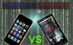 iPhone 4 vs. Droid X