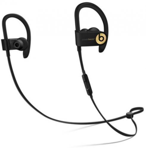 Apple Powerbeats3 Wireless Czarno-złote (MQFQ2ZM/A)