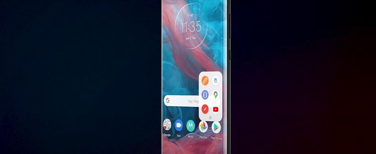 Motorola Edge skorzysta z krawędzi, by ulatwić obsługę