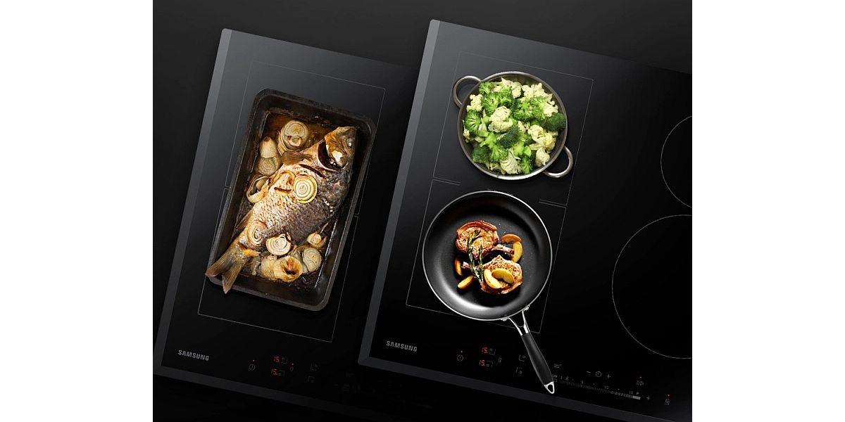 gotowanie na płycie indukcyjnej Samsung
