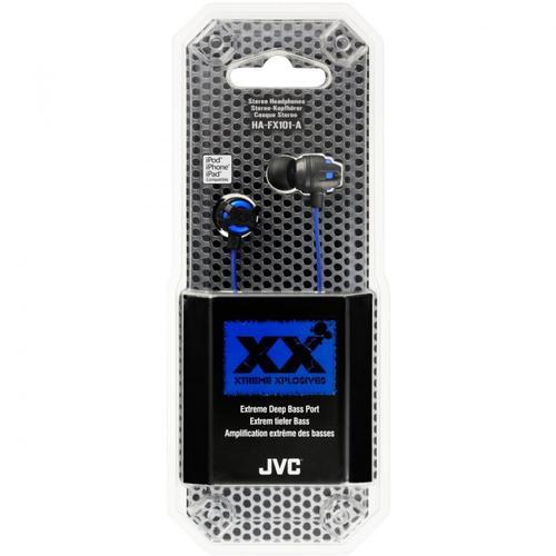JVC Słuchawki douszne HA-FX101-A-E BLUE
