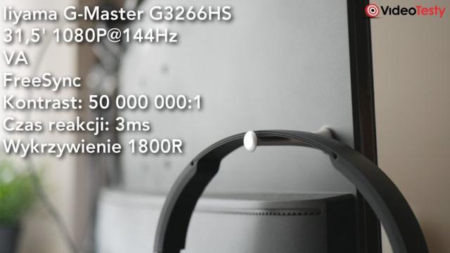 Plecy monitora Iiyama G-Master G3266HS-B1