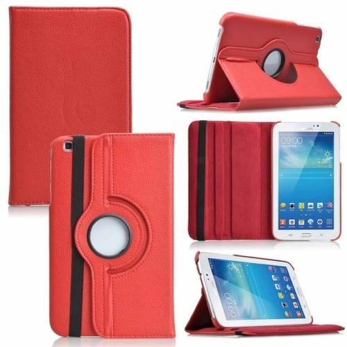 """WEL.COM Etui obrotowe Samsung Galaxy Tab Pro 8.4"""" czerwone"""