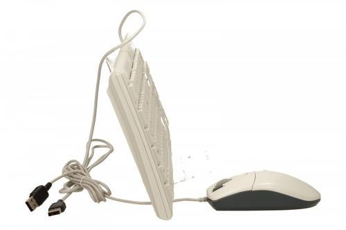 A4 TECH Zestaw klawiatura + mysz KM-720620D USB Biały