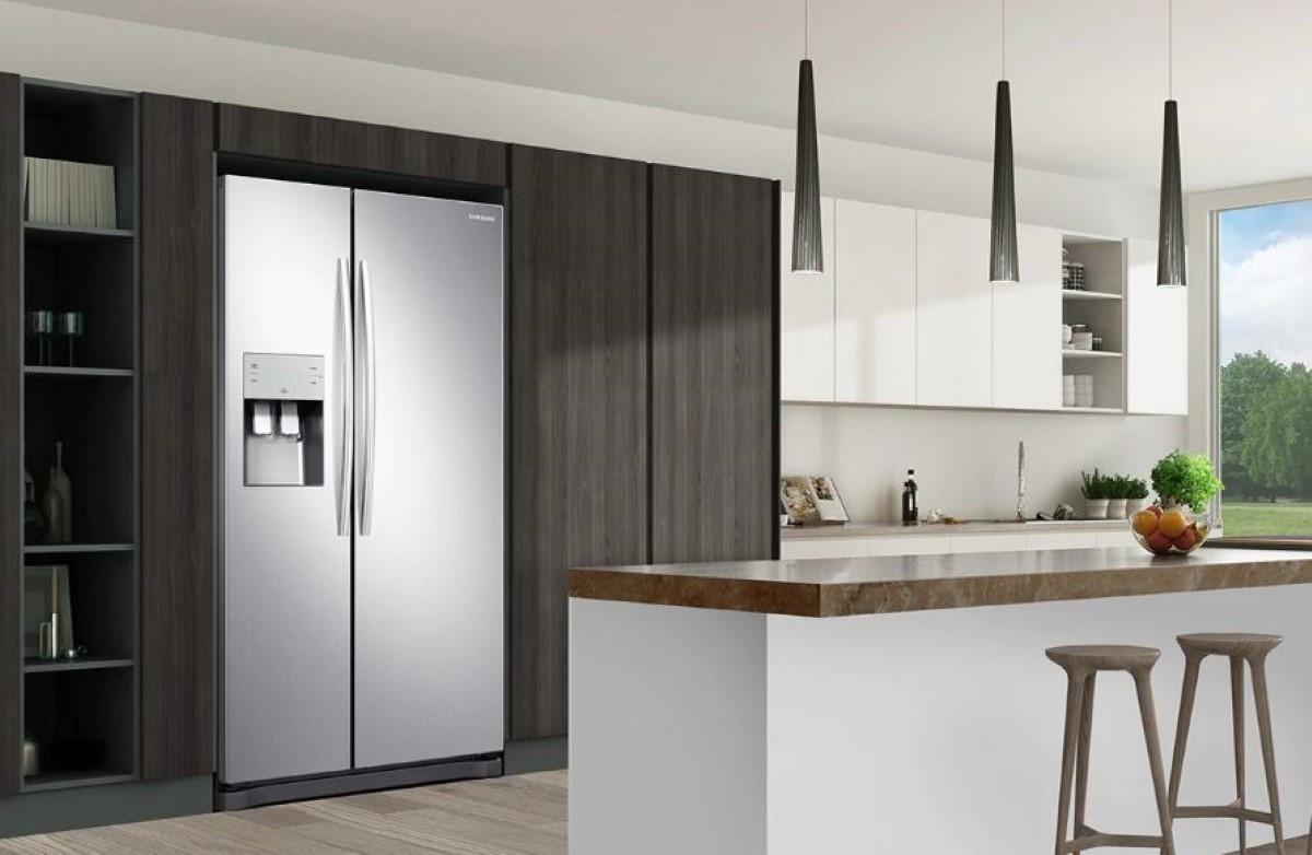 Samsung RS50N3513SA w kuchni