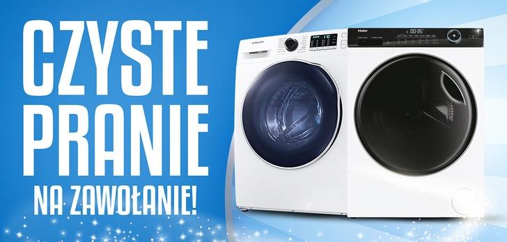 Taniej nawet o 700 zł! Idealne pralki na każdą przestrzeń!