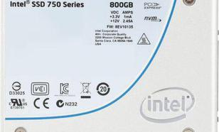 Intel 750 800GB PCIe 3.0 (SSDPE2MW800G4X1)