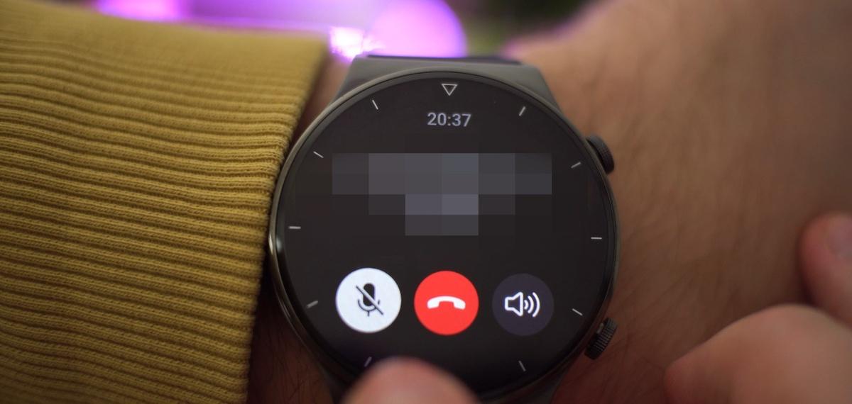 Rozmowę na Huawei Watch GT2 Pro przeprowadzicie bez większych problemów