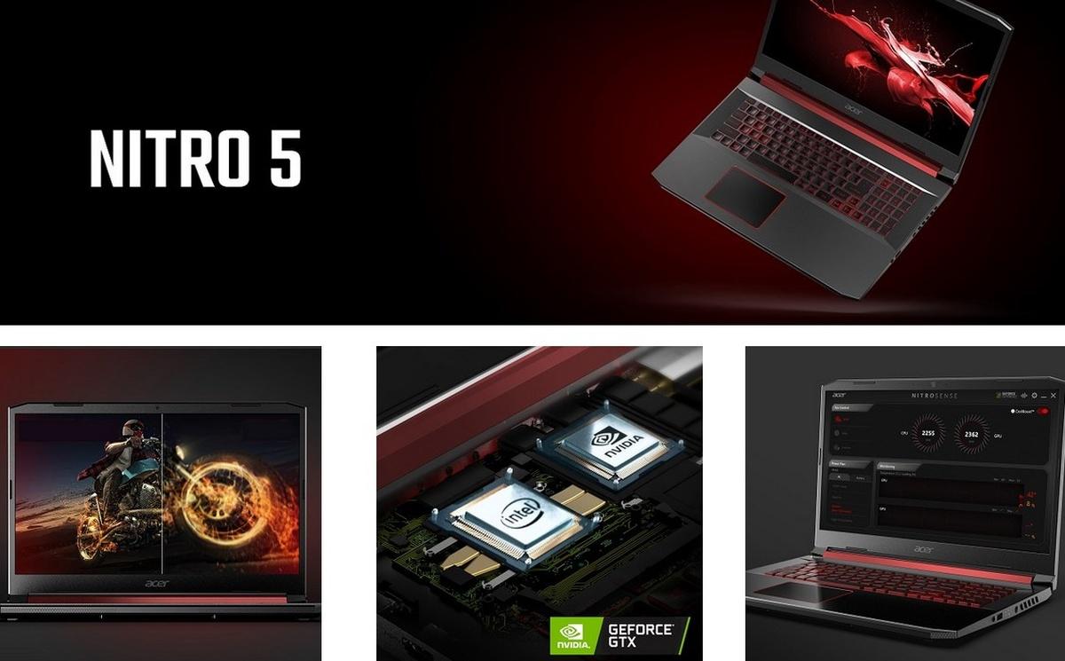 Acer Nitro 5 to laptop gamingowy o sporych możliwościach
