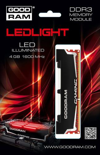 GoodRam DDR3 LED 4GB/1600 CL9-9-9-28