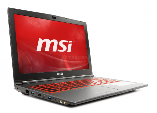 MSI GV62 8RD-018XPL - 240GB M.2 + 1TB HDD