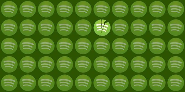 Oszukanie Spotify