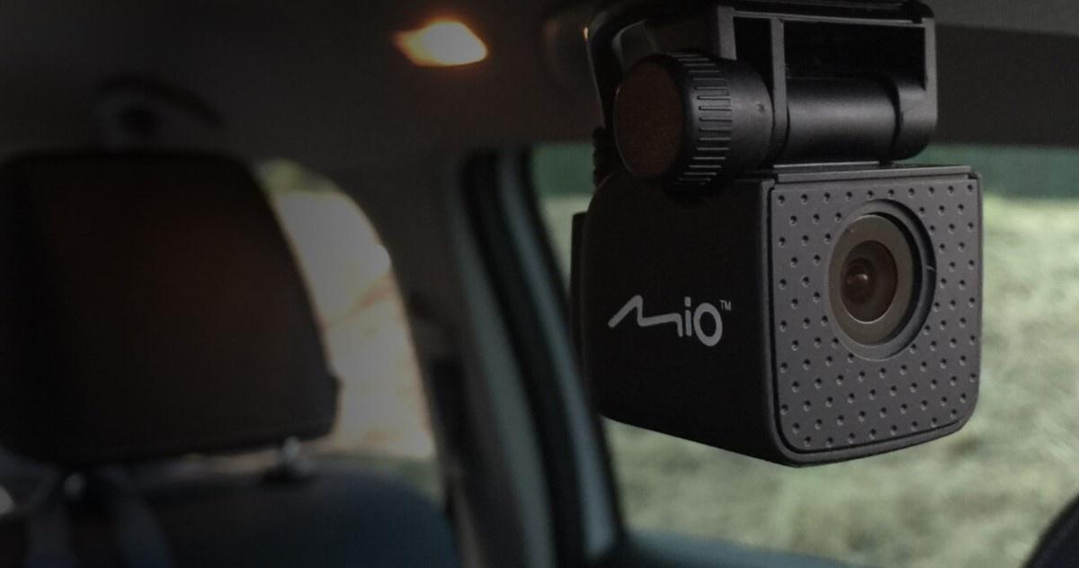 Dodatkowa kamera z tyłu Mio