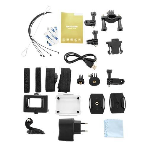 Qoltec Wodoodporna kamera sportowa 1.5 cala | Full HD | WI-FI