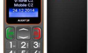 Aligator Senior Dual Sim Szaro-pomarańczowy (A320GO)