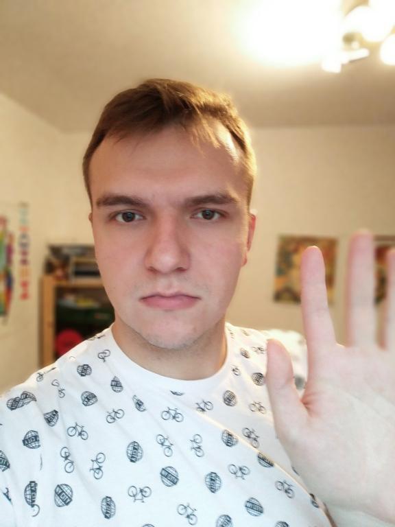 Rozmycie w selfie nie zawsze jest idealne