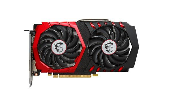 MSI GeForce GTX 1050 Ti GAMING 4G (GTX1050TIGAMINGX4G)