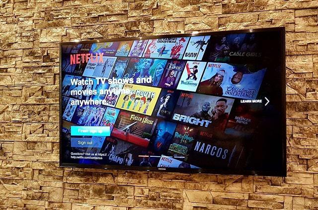 telewizor 4K od Samsunga