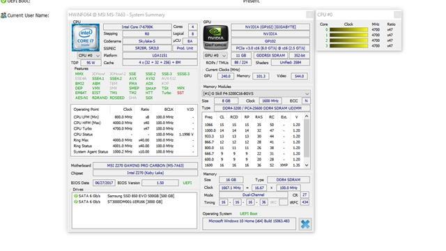 Gigabyte GTX 1080Ti Aorus platforma testowa