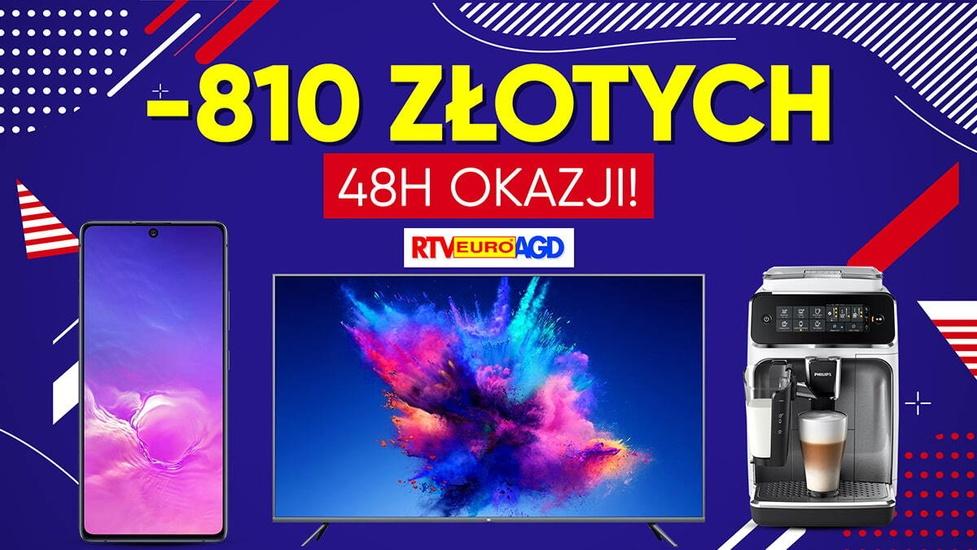 Nawet 810 złotych zaoszczędzisz w RTV Euro AGD!