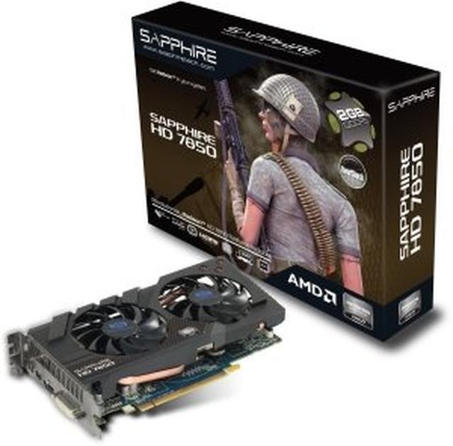 Sapphire HD 7850 OC 2GB GDDR5 [Unboxing]