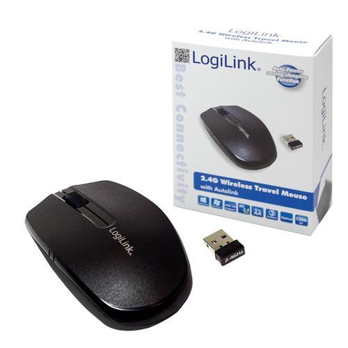 LogiLink Bezprzewodowa mysz 2.4 GHz z funkcją autolink