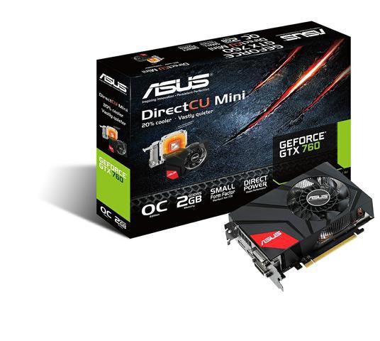 ASUS GeForce GTX 760 DirectCU Mini