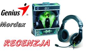 Genius Mordax (HS-G600) - uniwersalne słuchawki gamingowe na każdą kieszeń