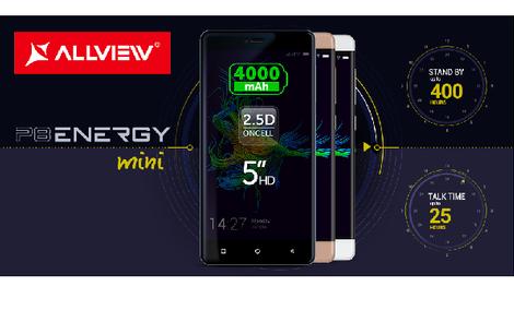 Allview P8 Energy Mini - Wytrzymały Ekran, Pojemna Bateria