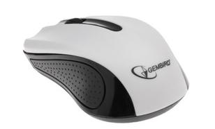 Gembird OPTO 1-SCROLL USB (MUS-101-W) Black/White