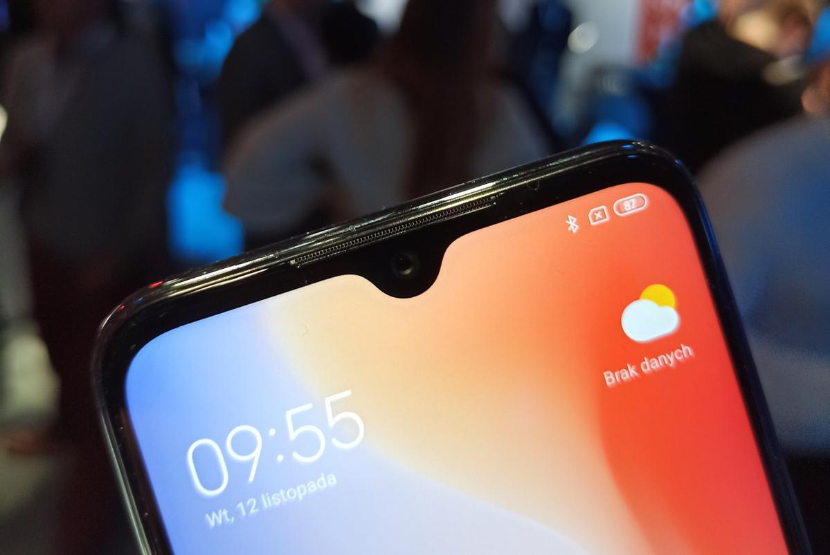 Redmi Note 8T posiada niewielkie wcięcie
