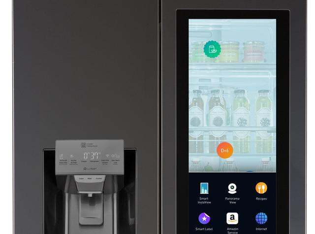 LG Smart Fridge Amazon Echo
