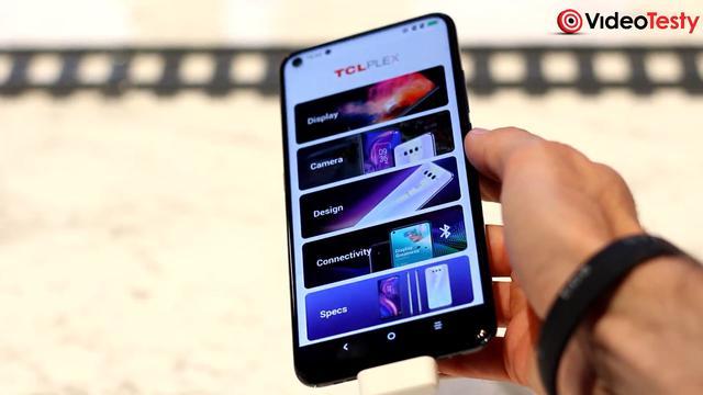 TCL Plex zaoferuje ekran z wcięciem - widocznym, ale nie ogromnym