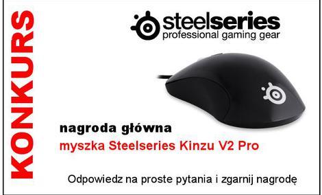 Konkurs SteelSeries - do wygrania myszka