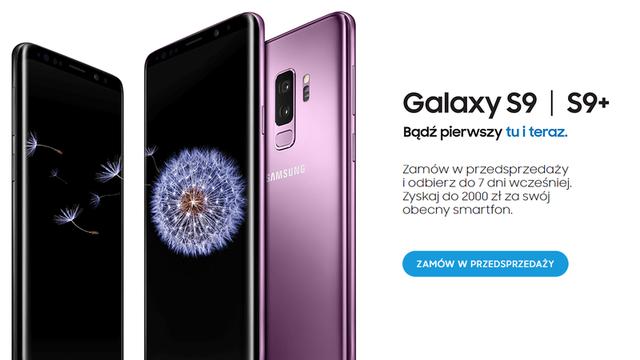 Samsung Galaxy S9 Przedsprzedaż