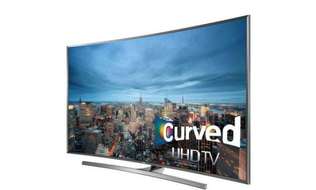 Samsung UE55JU7500 - 4K na Zakrzywionym Ekranie