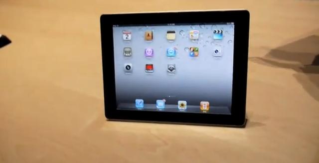 Prezentacja tabletu iPad 2 firmy Apple