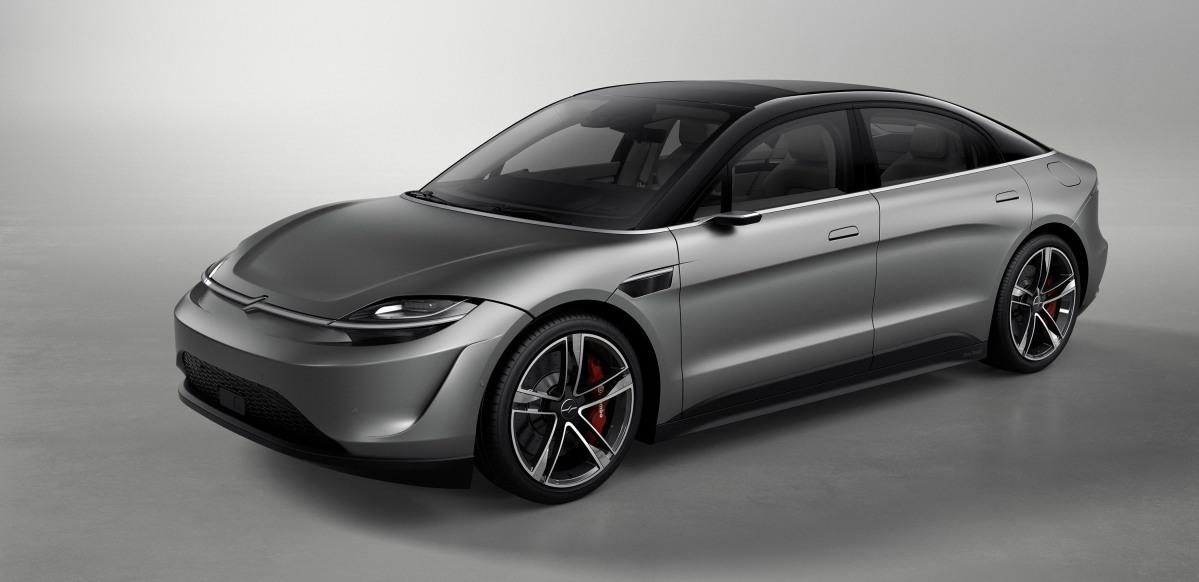Sony czerpie garściami z designu najpopularniejszych aut elektrycznych