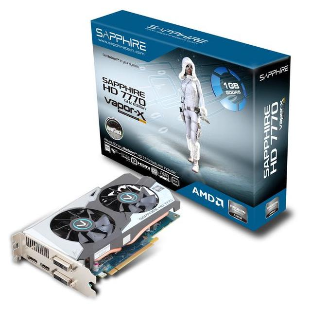 SAPPHIRE HD 7770 OC z coolerem Vapor-X – legendarny system chłodzenia powraca