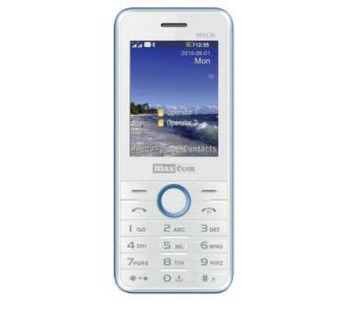 Maxcom MM136 (biało-niebieski)